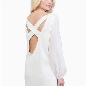 🌸 Tobi - Set of 2 Shift Dresses (Coral & White)